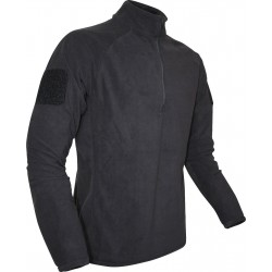 Ex-Display Viper Elite Mid Layer Fleece Black Large Tactical Top Zip Neck