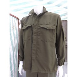 Surplus US Pilot Lightweight Jacket / Shirt Olive Green USAF Reclaimed Vintage