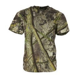 KT Kids Hunting T-Shirt Shooting Hunting Camouflage Hedge Camo Cotton Boys Girls