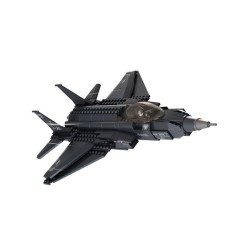 Lightning 2 Aircraft New Military Plane Aeroplane Stealth Construction Bricks