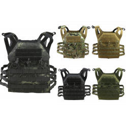 KT SPEC-OPS JUMP PLATE CARRIER AIRSOFT MILITARY MOLLE BLACK BTP TAN OLIVE