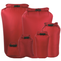 Highlander Waterproof Drysack Dry bag Pouch Bag Nylon Red Camping Security