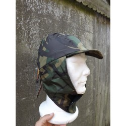 Highlander Cougar Winter Hat Waterproof Fleece Lined Camo Ears Warm Winter S/M