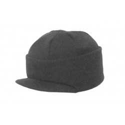 Highlander Bob Hat with Peak Black