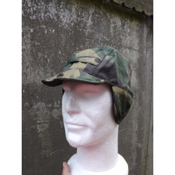Highlander Puma Winter Hat Waterproof Fleece Lined Camo Ears Warm Winter S/M