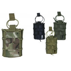 KT Delta Fast Mag Pouch Single Modular Airsoft Army Military Black Tan GreenCamo
