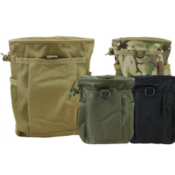 KT Large Dump Pouch Modular Airsoft Army Military Black Tan Green Camo