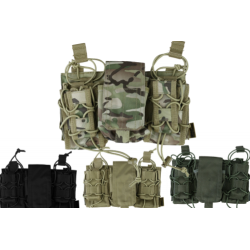 KT Modular Fast Rig Pouch Airsoft Army Military Black Tan Green Camo