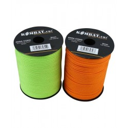 KT Luminous Neon Paracord Reel Para Cord Roll 3mm 100metres Strong Guyline