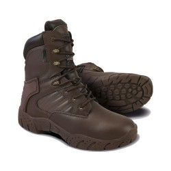 KT Tactical Pro Boot All Leather Assault Boot Military Brown Airsoft Army Cadets