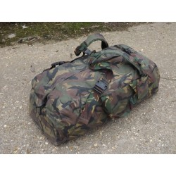 Genuine Dutch Army Holdall with Rucksack Straps Heavy Duty Strong 100L Camo