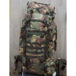 Genuine Dutch Army Bergen Rucksack Padded Straps Heavy Duty Strong 120L Camo