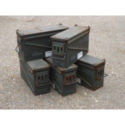 Genuine Army 40mm Ammo Box Metal Box Strong Storage Ammunition Container