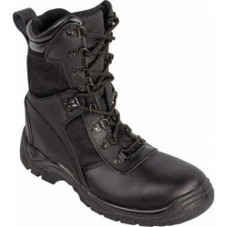 Highlander Recon Boots Black Leather Forces Military FOT142