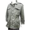 Genuine Vintage Greek M43 Jacket Cotton Canvas Army Army Mens Olive Green