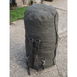 Genuine Side Loading XL Kit Bag Cotton Canvas Military Bag Rucksack Holdall Big