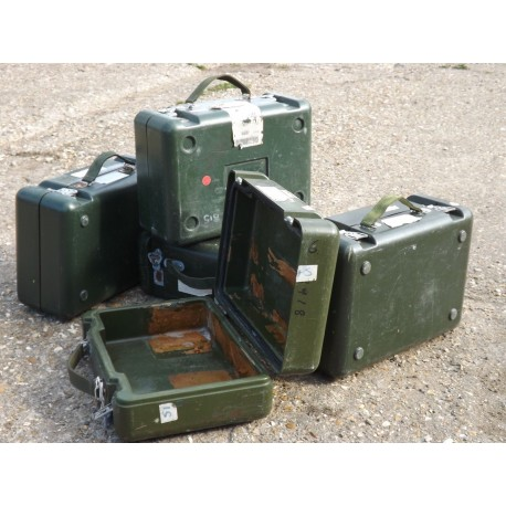 Genuine US Military Sight Box ABS Plastic Case Strong Storage Olive Green Army