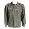 Genuine Surplus Vintage Czech Army Shirt Jacket Worm Camouflage Camo Waisted