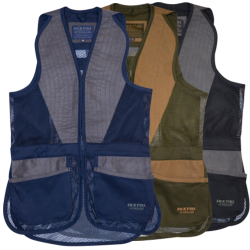 Jack Pyke Sporting Skeet Vest Clay Pigeon Shooting Waistcoat Blue Black Green