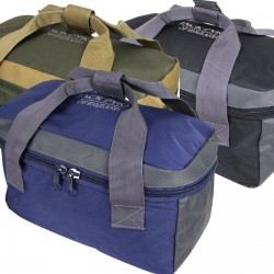 Jack Pyke Sporting Cartridge Carrier Clay Pigeon Hunting Blue Black Green