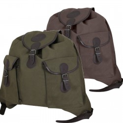 Jack Pyke Canvas Roe Sack Stalking Hunting Rucksack Vintage Style Brown Green