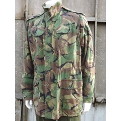 "Genuine Vintage 1960's British DPM Camo Jacket Camouflage Cotton 38/40""  (300)"