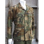 Genuine Vintage US Air Crewman Combat Jacket Woodland Camo Aramid 305