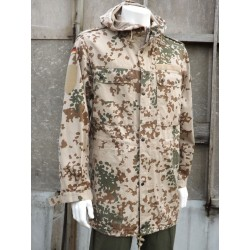 Genuine German Army Desert Flektarn Parka Unlined Troptarn Camouflage Cotton
