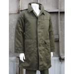 Genuine Czech Army Vintage Parka Olive Longline Quilted Liner Military Green 659