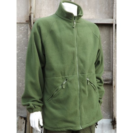 Genuine Surplus British Army Fleece New Style Olive Green Warm Thermal