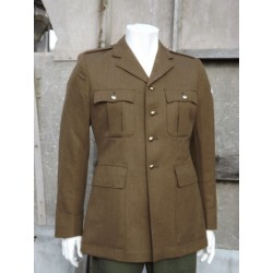 Genuine British Army Uniform Jacket Mens Dress Jacket Replaced Buttons Tan 319