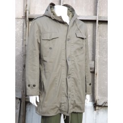 "Genuine Army Fur Lined Parka Olive Green Jacket Forces Surplus 40-42"" Chest 321"