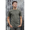 Genuine Army Surplus German T-Shirt Cotton Olive Green Grey Vintage