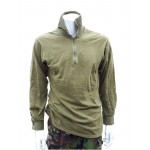 Genuine British Forces Norgee Shirt Thermal Norwegian Shirt Olive Green