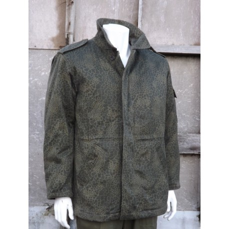 Genuine Army Puma Camo Quilted Winter Parka Thermal Thick Warm Coat Camouflage