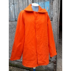 Genuine Vintage Welders / Cutters Jacket Coat Wool Orange 332