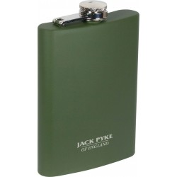 Jack Pyke Hip Flask Drink Flask Green Shooting 8oz Mens Gift