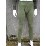 Genuine British Forces Thermal Long John Leggings Lightweight Cotton Army