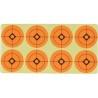 """Jack Pyke Target Stickers Self Adhesive 1.5"""" Labels Practise Targets Orange"""