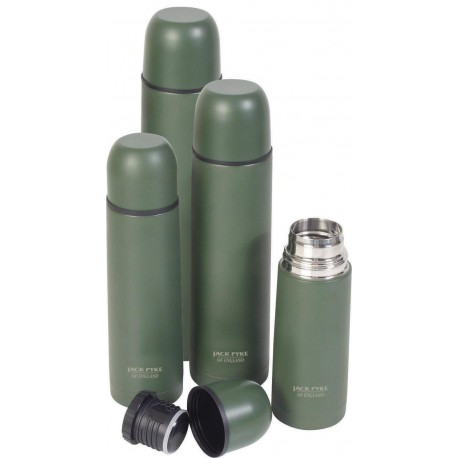 Jack Pyke Countryman Flasks Stainless Steel Thermal Flask Non Reflective