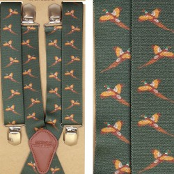 Jack Pyke Mens Trouser Braces Stretch Elasticated Adjustable Shooting Pheasant