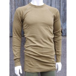 Genuine Dutch Forces Thermal Top Long Sleeve T-Shirt Mustard Winter Long G1