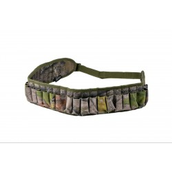 Jack Pyke Cartridge Belt English Oak EVO Tree Camo Hunting Shooting