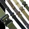 "KT Recon Belt Tough Military Webbing Strap Belt 1.35"" Wide  28-46"" Waist"