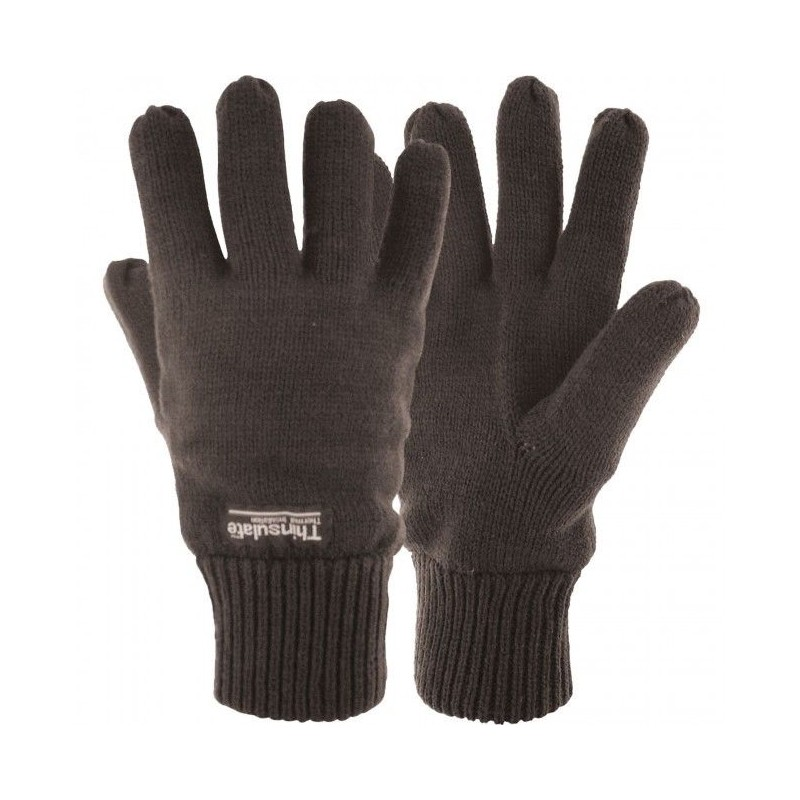 32fccd06526 ... Thinsulate Lined Knitted Gloves Thermal Warm One Size Fits Most Adult  Men