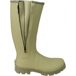 Huntsbury Hengrave Zipped Wellington Boot Neoprene Wellies Warm Winter Thermal