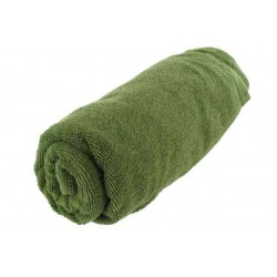 Highlander Large Olive Towel