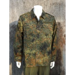 NEW Genuine Surplus German Army Flektarn Camo Shirt Vintage Army Camouflage