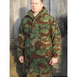 Genuine Surplus Vintage Falklands Parka Quilted liner Repaired DPM Camo (465)