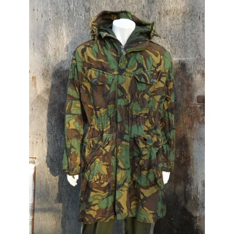 Genuine Surplus Vintage Falklands Parka Quilted liner Repaired DPM Camo (466)
